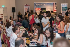 Estudantes participam do UK Universities Tour em Porto Alegre. Foto: British Council