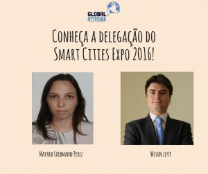 Delegação brasileira do Instituto Global Attitude na Smart Cities Expo 2016